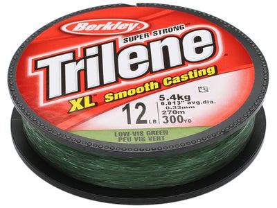 Berkley Trilene XL Line Low-Vis Green