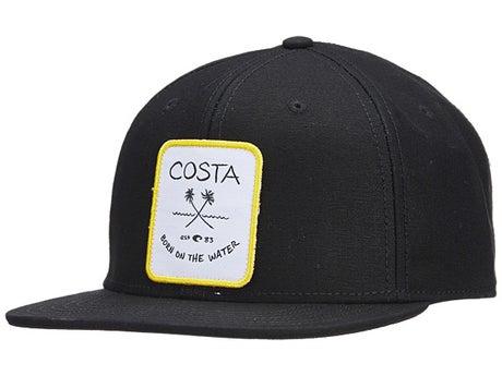 73c912b0a6 Costa Del Mar Palms Twill Flat Brim Hat