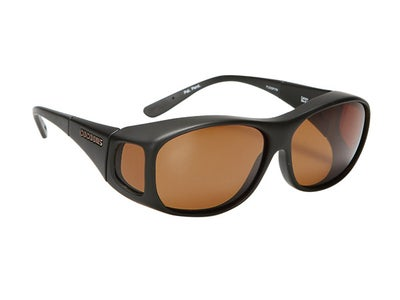 Cocoons Slim Line Black Sunglasses (Medium)