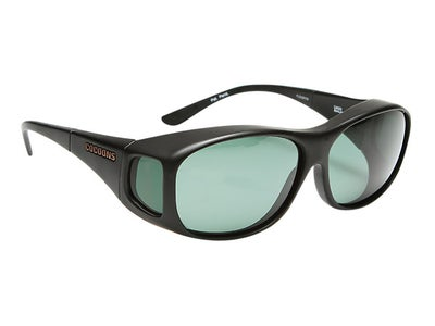 Cocoons Slim Line Black Sunglasses (Medium)