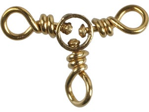 Danielson Brass Three-Way Swivels