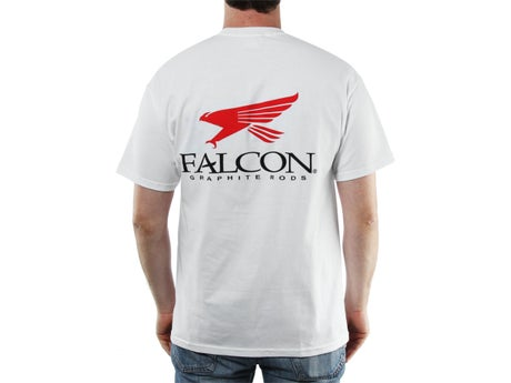 Falcon Logo Shortsleeve T-Shirt White