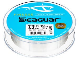 Seaguar finesse fluorocarbon line 150yd for Seaguar fishing line