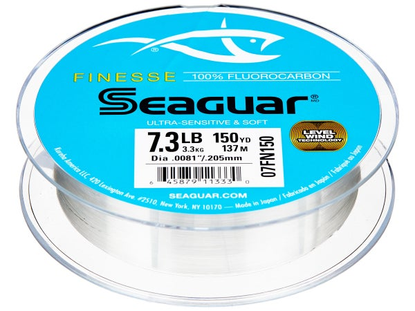 Seaguar Finesse Fluorocarbon Line 150yd - Tackle Warehouse