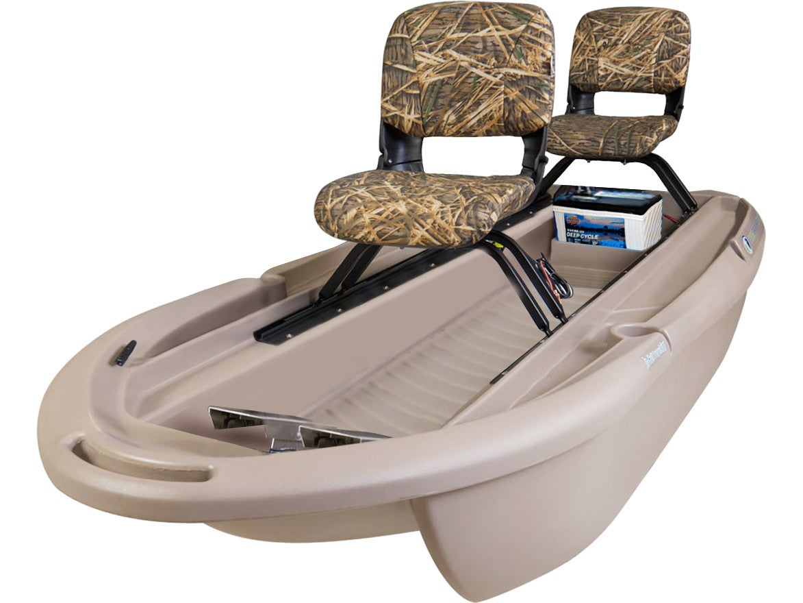 The worlds best 2 man small fishing boat twin troller x10 - View Large