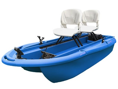 Freedom Electric Marine Twin Troller X10 Deluxe Boat