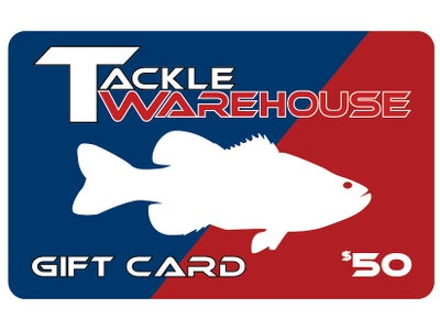 Tackle Warehouse Gift Card $50