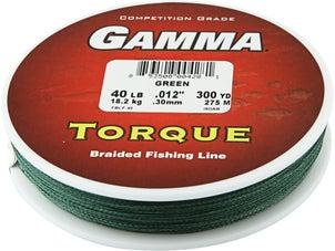Gamma Torque High Performance 100% Spectra Braid
