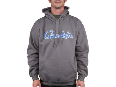 Gamakatsu Hooded Sweatshirt Gray