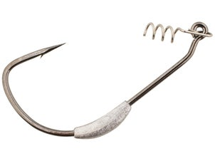 Gamakatsu Weighted Superline Spring Lock Hook 4pk