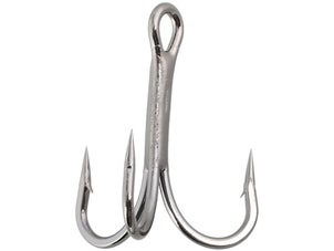 Gamakatsu 4x Strong Treble Hooks Black