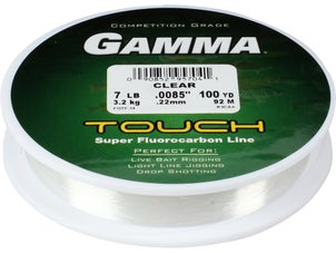 Gamma touch fluorocarbon line for Gamma fishing line