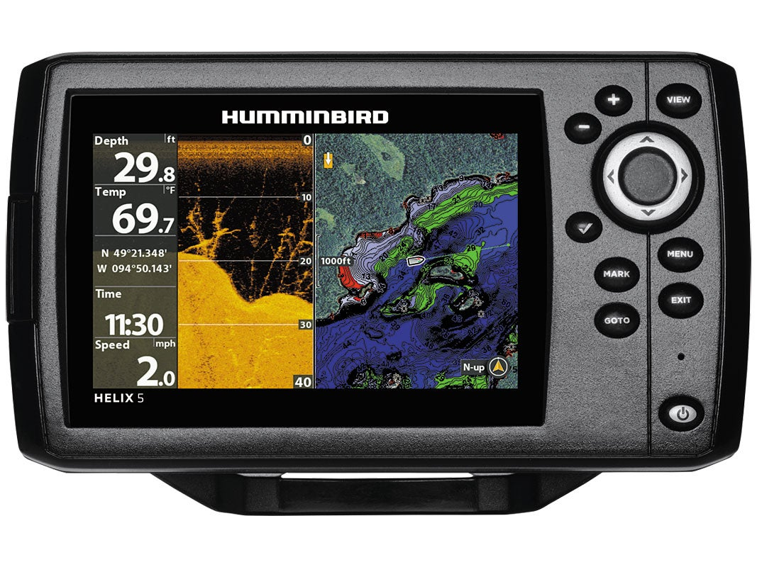 humminbird helix 5 g2 sonar, Fish Finder