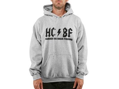 Hardcore Bass Fishing Original Hooded Sweatshirt