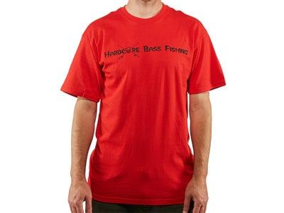 Hardcore Bass Fishing Skeleton Short Sleeve T-Shirt