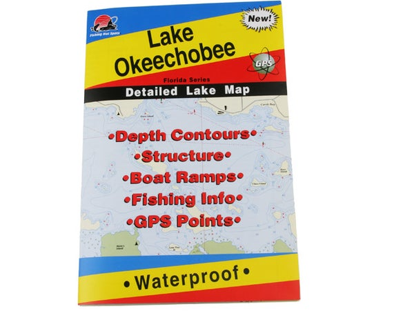 Fishing Hot Spots Topographic Maps - Tackle Warehouse