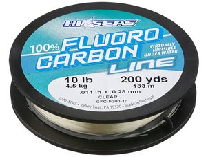 HI-SEAS 100% Fluorocarbon Line 200yd