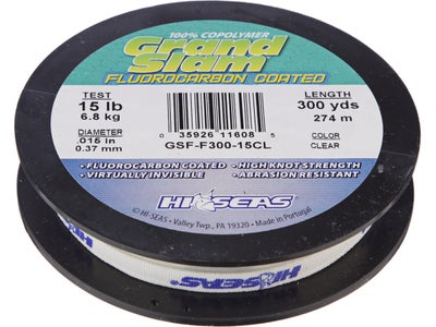 HI-SEAS Grand Slam Fluorocarbon Coated Line
