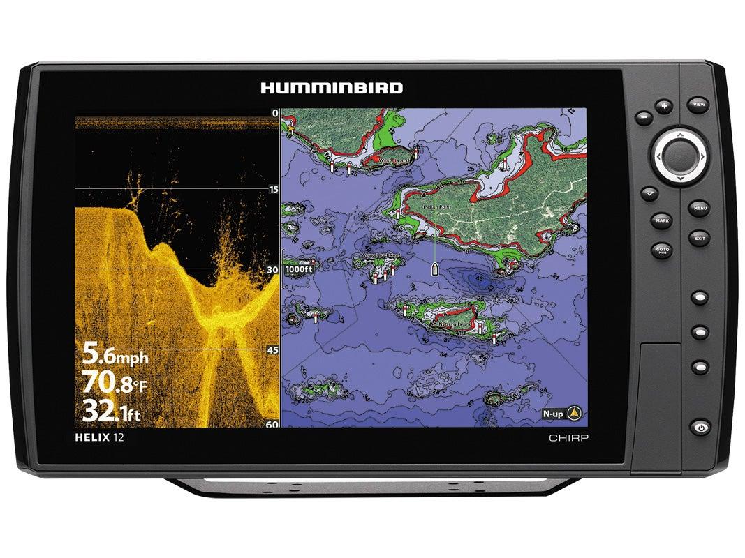 humminbird helix 12 chirp sonar, Fish Finder