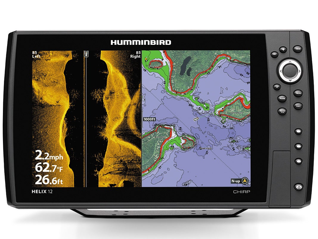humminbird helix 12 chirp sonar, Fish Finder