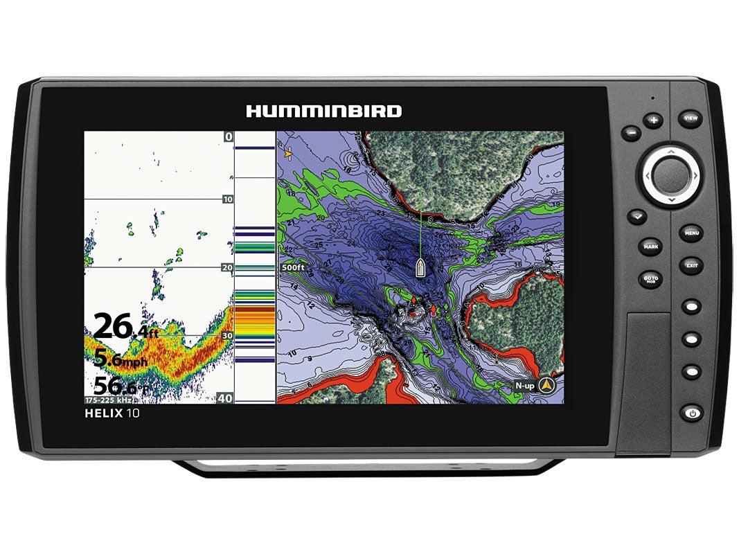 humminbird helix 10 sonar, Fish Finder