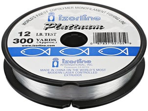 Izorline Platinum 300yd Spool