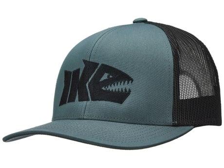 Ike Shark Logo Gray/Black Hat