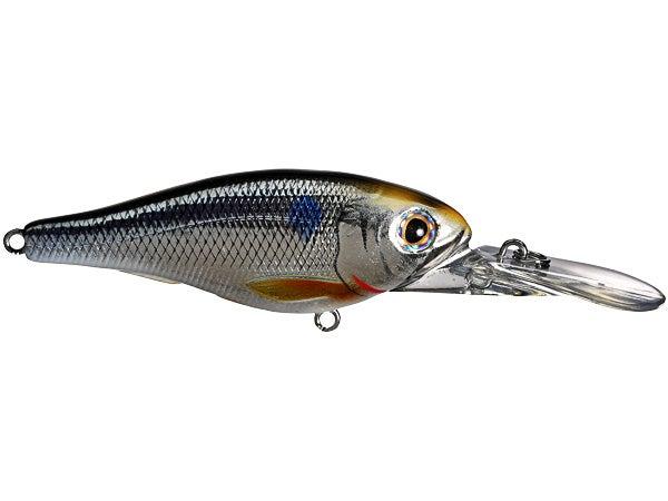 Koppers Wobbler Live Target Threadfin Shad Baitball Crankbait Pearl Bronze