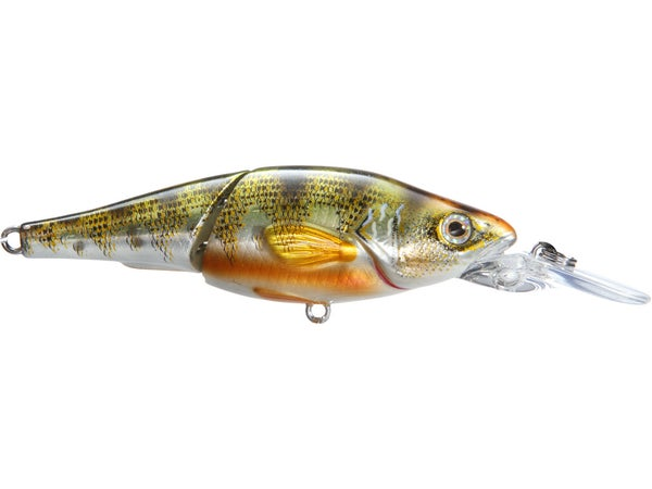 LIVETARGET Yellow Perch Jointed Crankbait