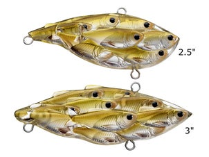 LIVETARGET Yearling Baitball Lipless Crankbait