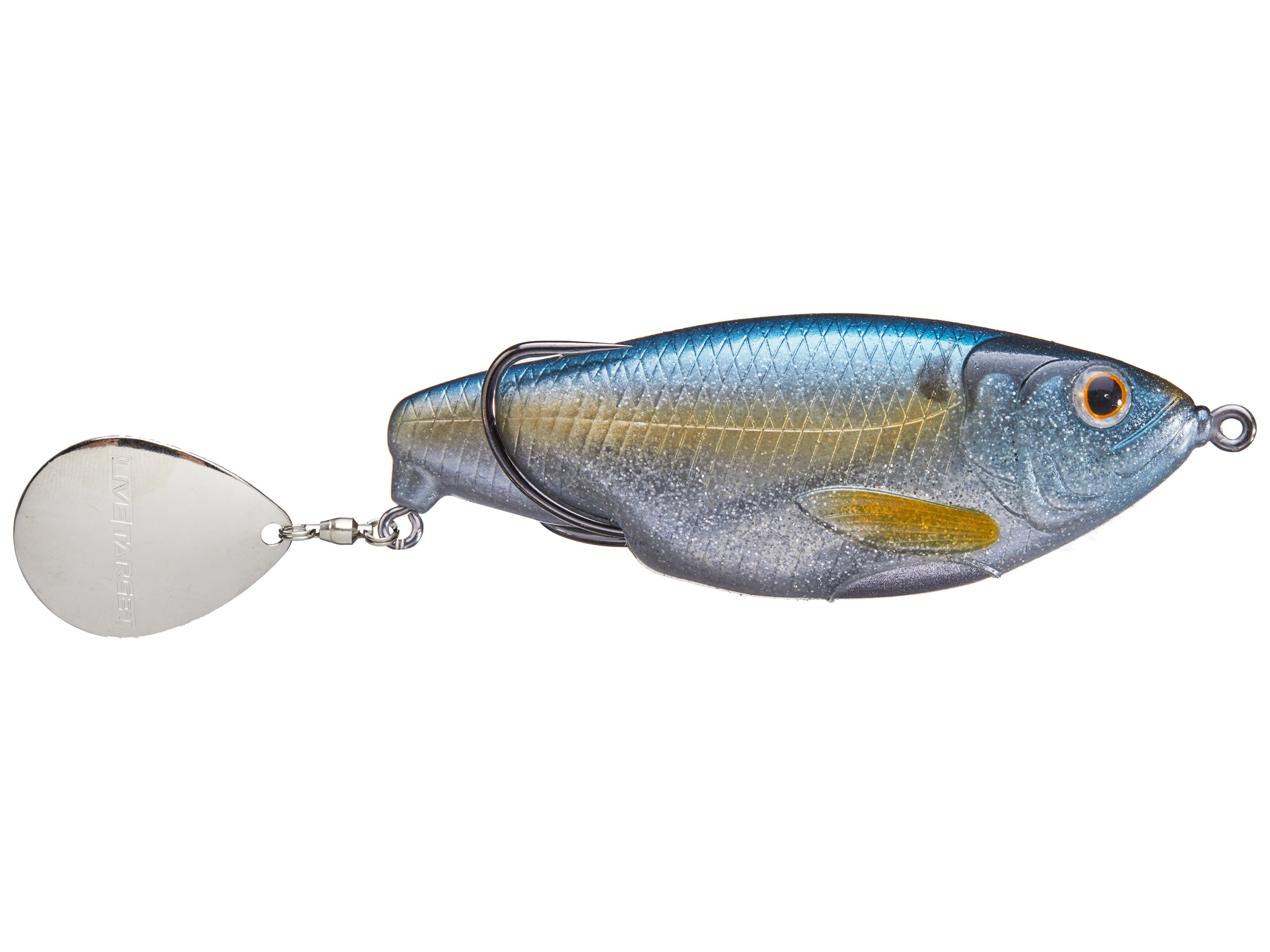 LiveTarget Lures SCH70T157 Commotion Shad Hard Bait Topwater Fishing Lure
