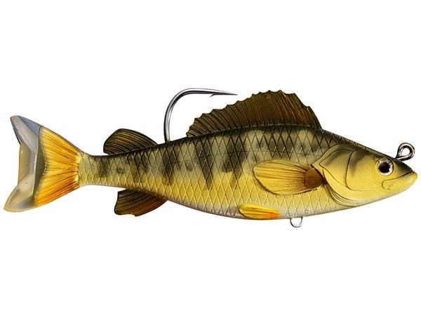 LIVETARGET Yellow Perch Swimbait - Tackle Warehouse