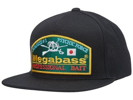 47c160111 Megabass Throwback Snapback Hat - Tackle Warehouse
