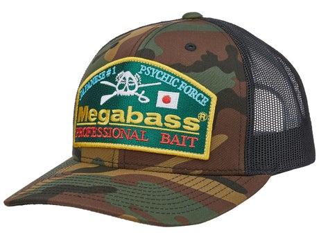 3df3ababc Megabass Throwback Trucker Hat - Tackle Warehouse