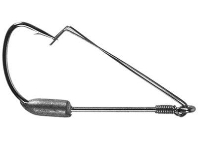 Mustad Weedless Weighted Hooks 1/32 4pk