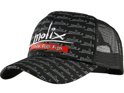 Molix Sport Black Trucker Hat