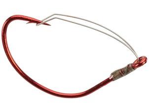 Mustad Wide Gap Weedless Hook Red