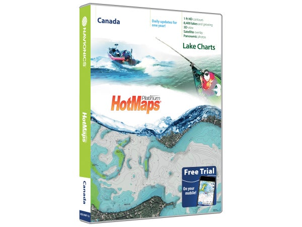 Navionics HotMaps Platinum Lake Maps - Tackle Warehouse