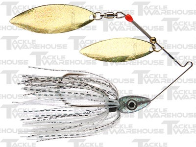 Nichols Pulsator Metal Flake Double Willow Spinnerbaits