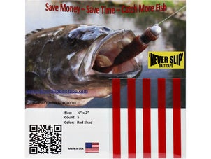 Never Slip Bait Tape 3/16