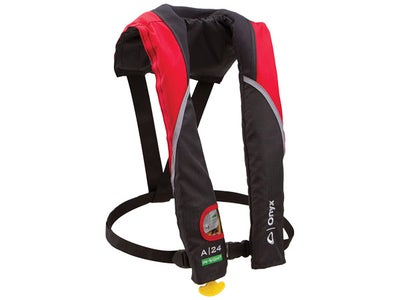 Onyx AM-24 In-Sight Inflatable Life Jacket