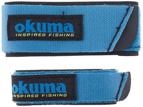 Okuma Neoprene Rod Straps 2pk