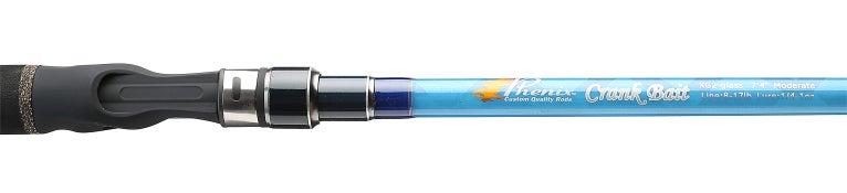 Phenix Glass Crankbait Casting Rods Blue
