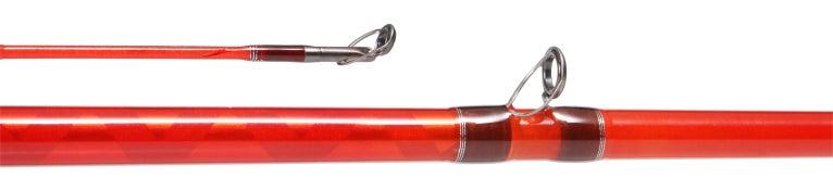 Phenix Glass Crankbait Casting Rods Red