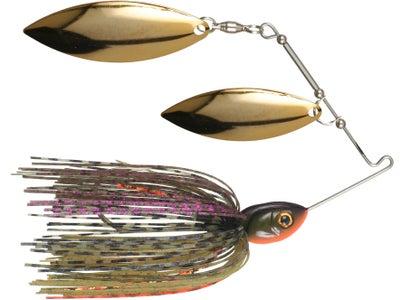 Pepper Custom Baits Double Willow Spinnerbait