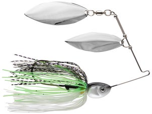 Pepper Custom Baits Double Willow Spinnerbait