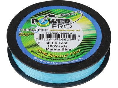 Power Pro Hollow Ace Spliceable Braided Line Blue