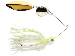 Pepper Custom Baits Colorado Willow Spinnerbait