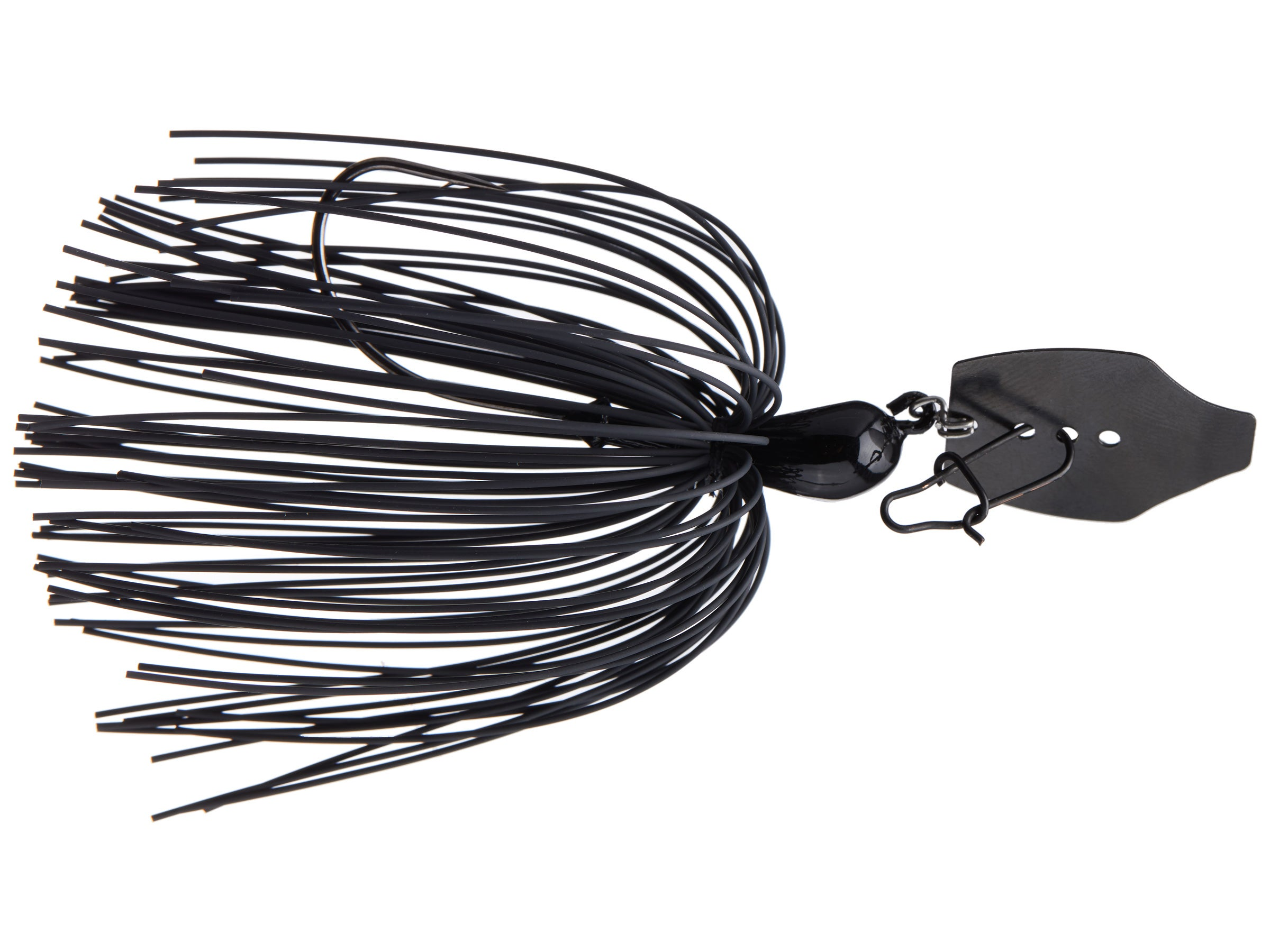 Black Custom Silicone Spinnerbait//Buzzbait Skirts 5 Bass Fishing-Lure Crafts