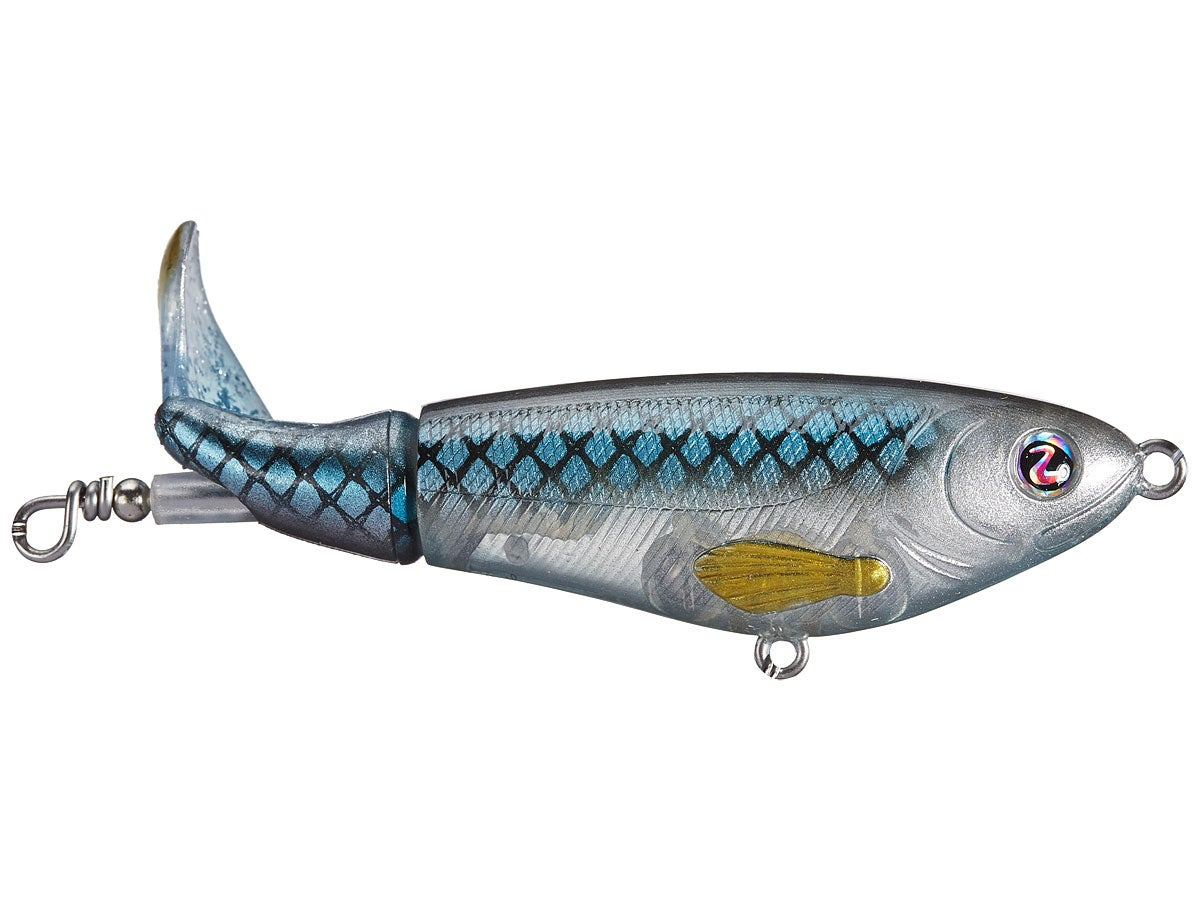 2 New River2Sea Whopper Plopper 130 Blue Blood Topwater Fishing Bait Lot